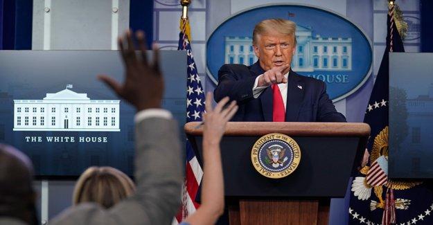 Trump llamadas partido REPUBLICANO coronavirus propuesta de semi-irrelevante como el acuerdo parece lejano