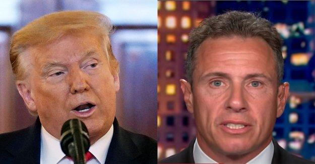 Trump rips, de la CNN, Chris Cuomo en 'muy mal' ratings, dice 'Fredo' debe ser reasignado, tomar recorte de sueldo