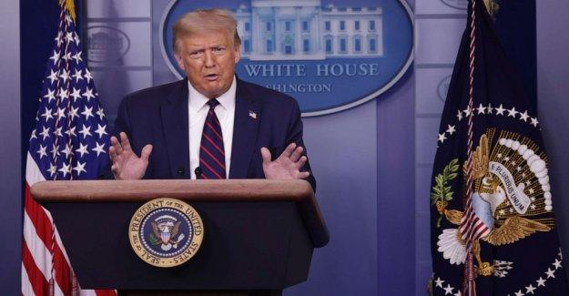 Trump sugiere retrasar el año 2020 de las elecciones, un poder designado para el Congreso
