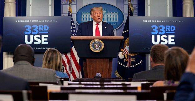 Trump termina la rueda de prensa después de la defensa de pro-hidroxicloroquina médico que dice que el virus tiene una 'cura'