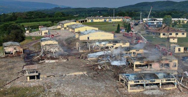 Turquía: fábrica de Fuegos artificiales empleados detenidos después de la explosión