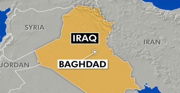 Un cohete en Bagdad del aeropuerto internacional, no muy lejos de las tropas de EEUU y de los diplomáticos
