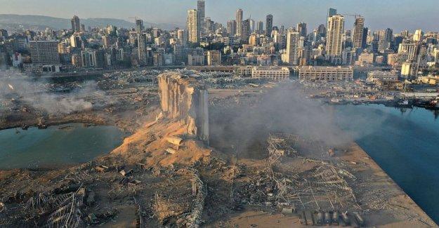 1 Americano entre 135 muertos en la masiva Beirut explosión, dicen los funcionarios de la