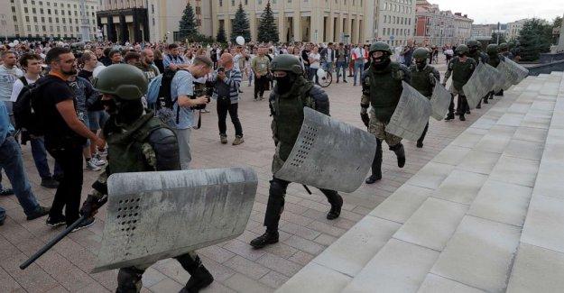 2 los estudiantes supuestamente atrapados en Belarús represión