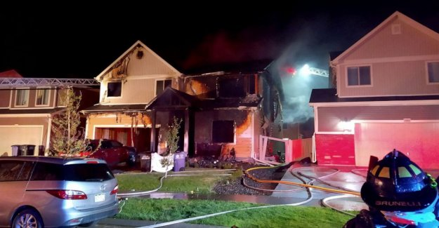 2 niños entre 5 muertos en Denver incendio de la casa, la sospecha de incendio premeditado