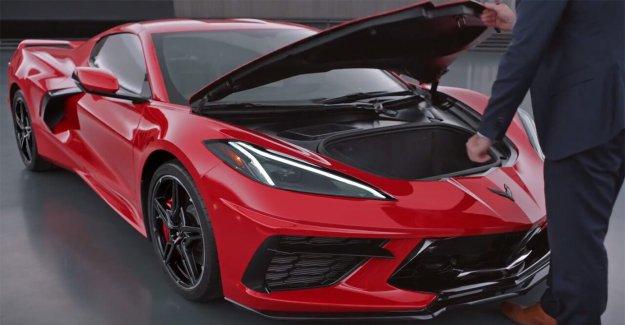 2020 Chevrolet Corvette recordó así que no te quedes con su 'frunk'