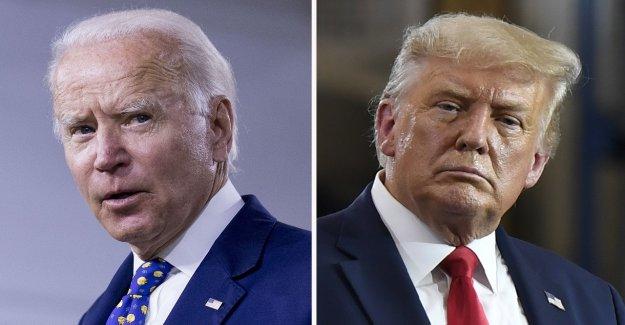 2020 encuestas de apriete: Trump se estrecha la brecha con Biden como jefe de la campaña electoral créditos coronavirus sesiones informativas