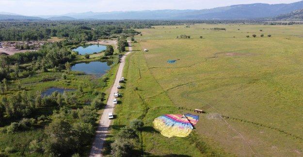 3 globos de aire caliente accidente en Wyoming, hiriendo de hasta 20 personas: informe