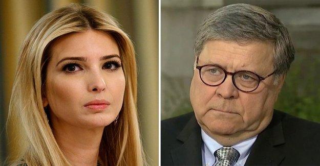 AG Barr y Ivanka Trump anunciar DOJ proporcionando $35m de vivienda para víctimas de trata de personas