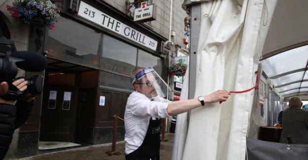Aberdeen bloqueo comienza como Covid clúster crece
