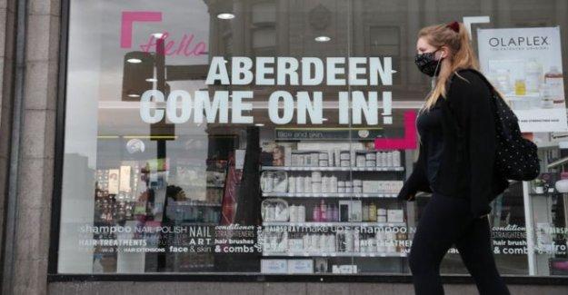 Aberdeen local de bloqueo de seguridad para permanecer en el lugar