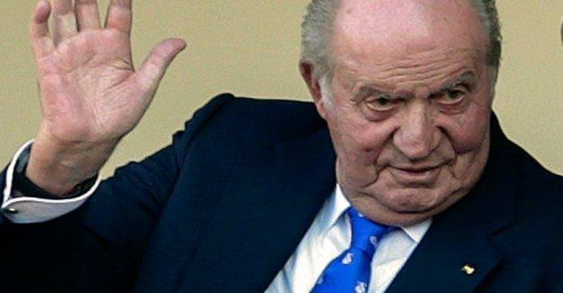 Adios, España: el Ex rey hojas de lugar no revelado