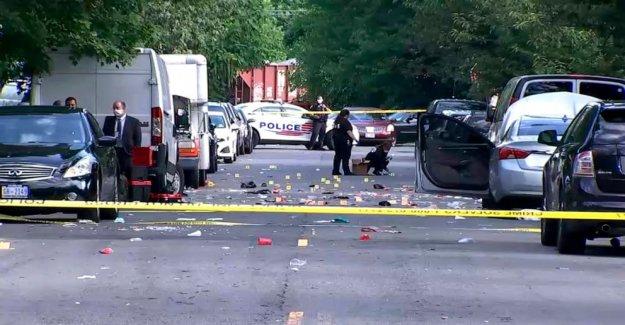 Adolescente mató, policía fuera de servicio 'luchando por su vida en la noche tiroteo en Washington, DC