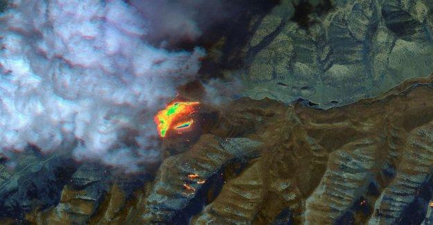 Advertencia de calor de las Llanuras del Noreste, el fuego y el calor en el Oeste de