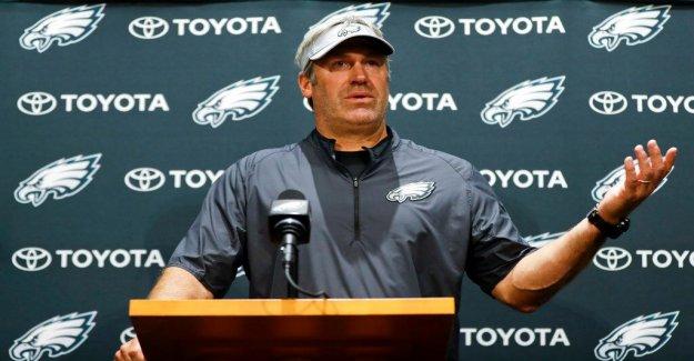 Águilas' Doug Pederson es el segundo de la NFL head coach para una prueba positiva para el coronavirus