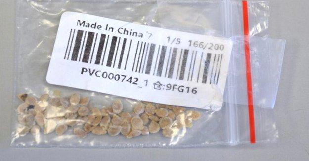 Arkansas hombre de plantas misterio semillas de China; USDA preparaciones para destruir