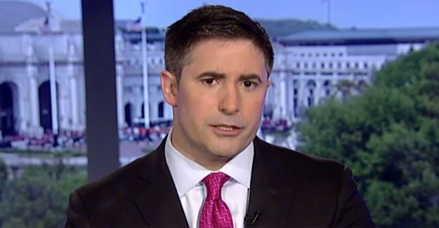 Axios reportero Jonathan Cisne disculpa para el voto por correo de reclamación realizadas durante el Triunfo de la entrevista