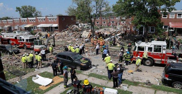 Baltimore explosión de gas número de muertos se eleva a 2