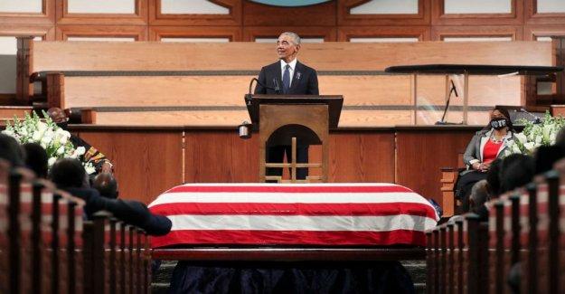 Barack Obama elogio para John Lewis señales día crucial en 2020 elección: OPINIÓN