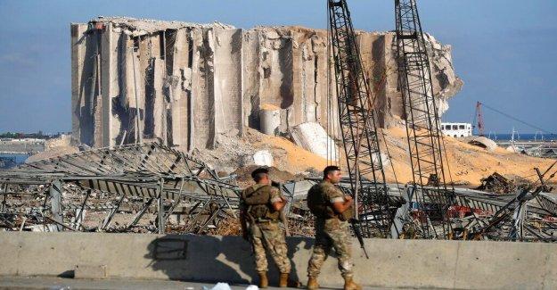 Beirut explosión: los militares de EE.UU. envía 3 aviones de carga para el Líbano lleno de suministros médicos