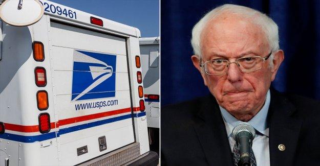 Bernie Sanders llamadas en Casa para volver a Capitol Hill para negociar USPS financiación, quitar director General de correos