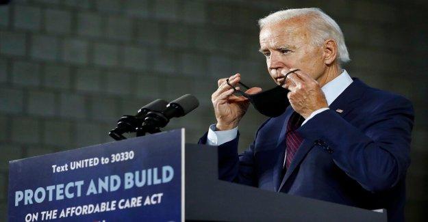 Biden campaña de bombardeo de 280 millones de dólares para la compra de anuncios de la orientación de los 15 estados