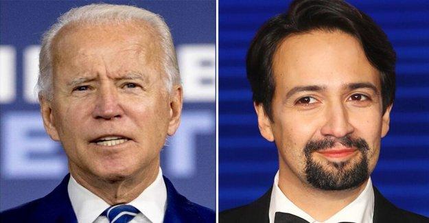 Biden dice Lin-Manuel Miranda los Latinos nos mantiene en marcha durante la pandemia de