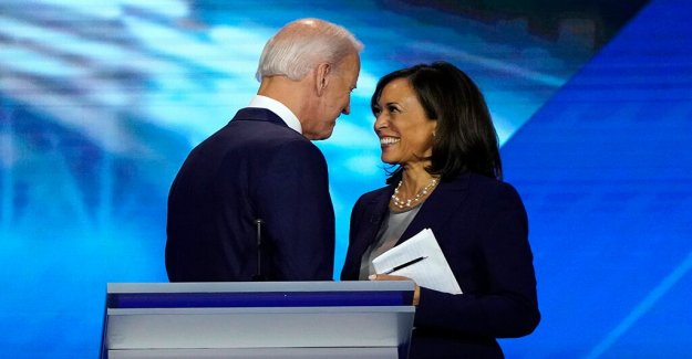 Biden en el debate choque con Harris: yo no guardar rencor'