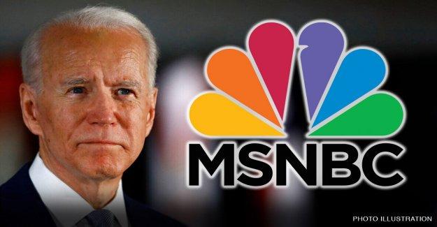 Biden meteduras de pata ignorado por MSNBC estelar de muestra para 3 recta noches