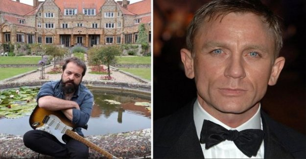 Bloqueo de la banda de trabajo con la película de james Bond compositor