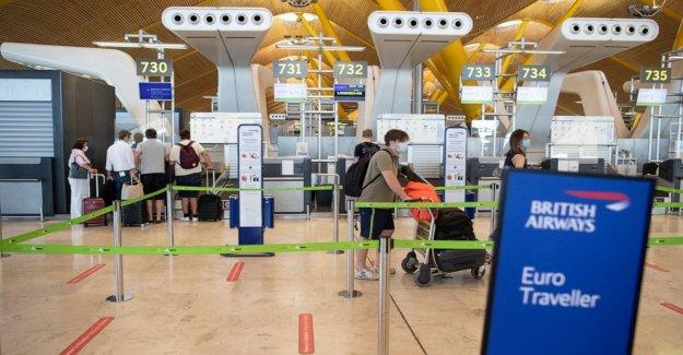 British Airways propietario de los libros de la pérdida de la pandemia de puestos de viaje