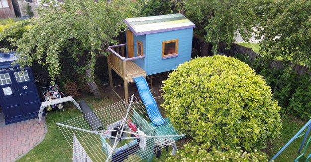 British playhouse enumerados en Airbnb como una broma, se pone reales de los clientes