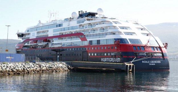 Brote de éxitos Noruega crucero, podría extenderse a lo largo de la costa