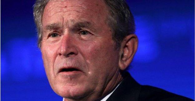 Bush para la publicación de nuevos inmigrantes retrato libro