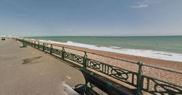 Búsqueda para el kayakista perdidos en Brighton costa