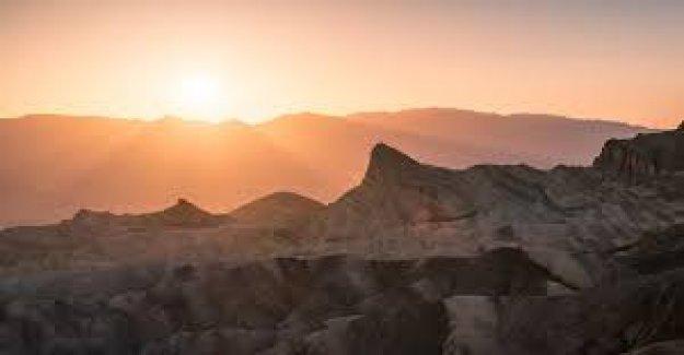 California Valle de la Muerte golpea a 130 grados, podría ser entre más caliente que nunca