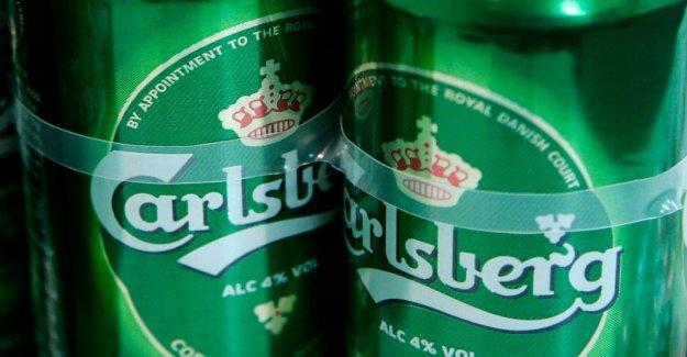 Carlsberg prevé que el crecimiento en Asia como de otros mercados, disminución