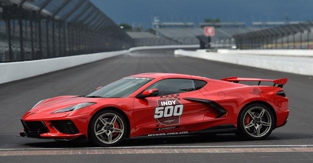 Chevrolet Corvette a ritmo de coches para las 500 millas de Indianapolis