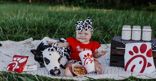Chick-fil-Un picnic inspira tierna sesión de fotos