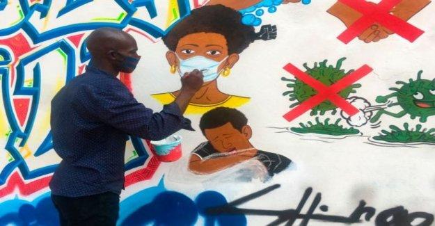Cómo África generosidad secas de un profesor lágrimas