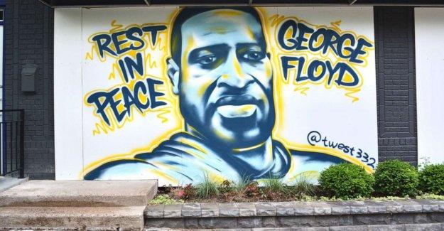 Como Negro Vidas Importan los murales son eliminados o alterados, Minneapolis activistas de la puesta en marcha de actividades para preservar el arte