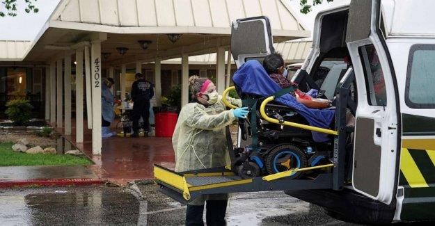 Como coronavirus muertes disminución en todo el país, viral muertes persisten en América hogares de ancianos, los datos de muestra