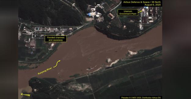 Corea del norte nuclear complejo puede haber sido dañada por las recientes inundaciones, NOS think tank dice