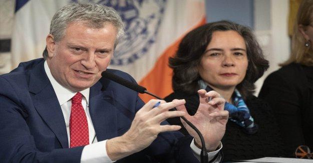 De Blasio anuncia NYC coronavirus puntos de control para asegurarse de que las personas se adhieren a los reglamentos de cuarentena