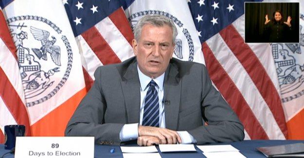 De Blasio sugiere Cuomo es malo pedir a la Ciudad de Nueva York ricos para volver, dice que los residentes no se debe comprar coches
