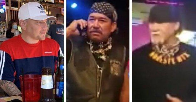 De Policía de Houston buscando 3 hombres conectado a muerte a tiros involucran pandilla de motociclistas