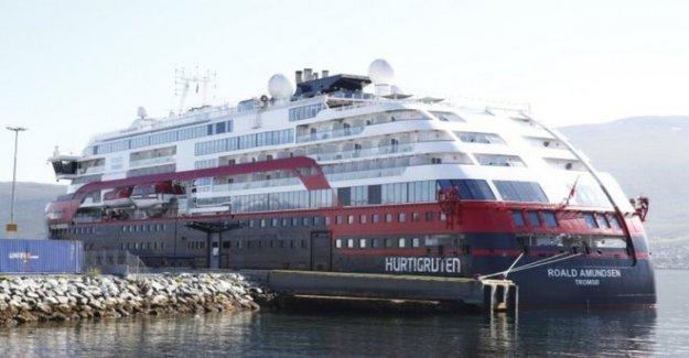 Decenas positivo en la prueba de Covid-19 de Noruega crucero