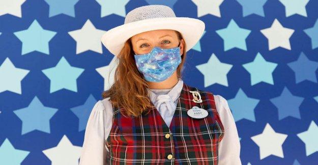 Disney versiones uniforme coronavirus mascarillas para el parque temático de los empleados