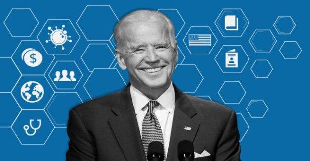 Donde Joe Biden, se levanta sobre las cuestiones clave