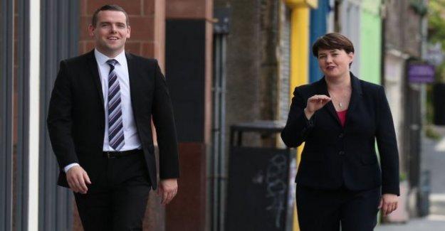 Douglas Ross lanza Escoceses Tory liderazgo oferta